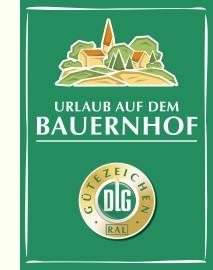 Gütesiegel: Qualitätsgastgeber Urlaub auf dem Bauernhof DLG